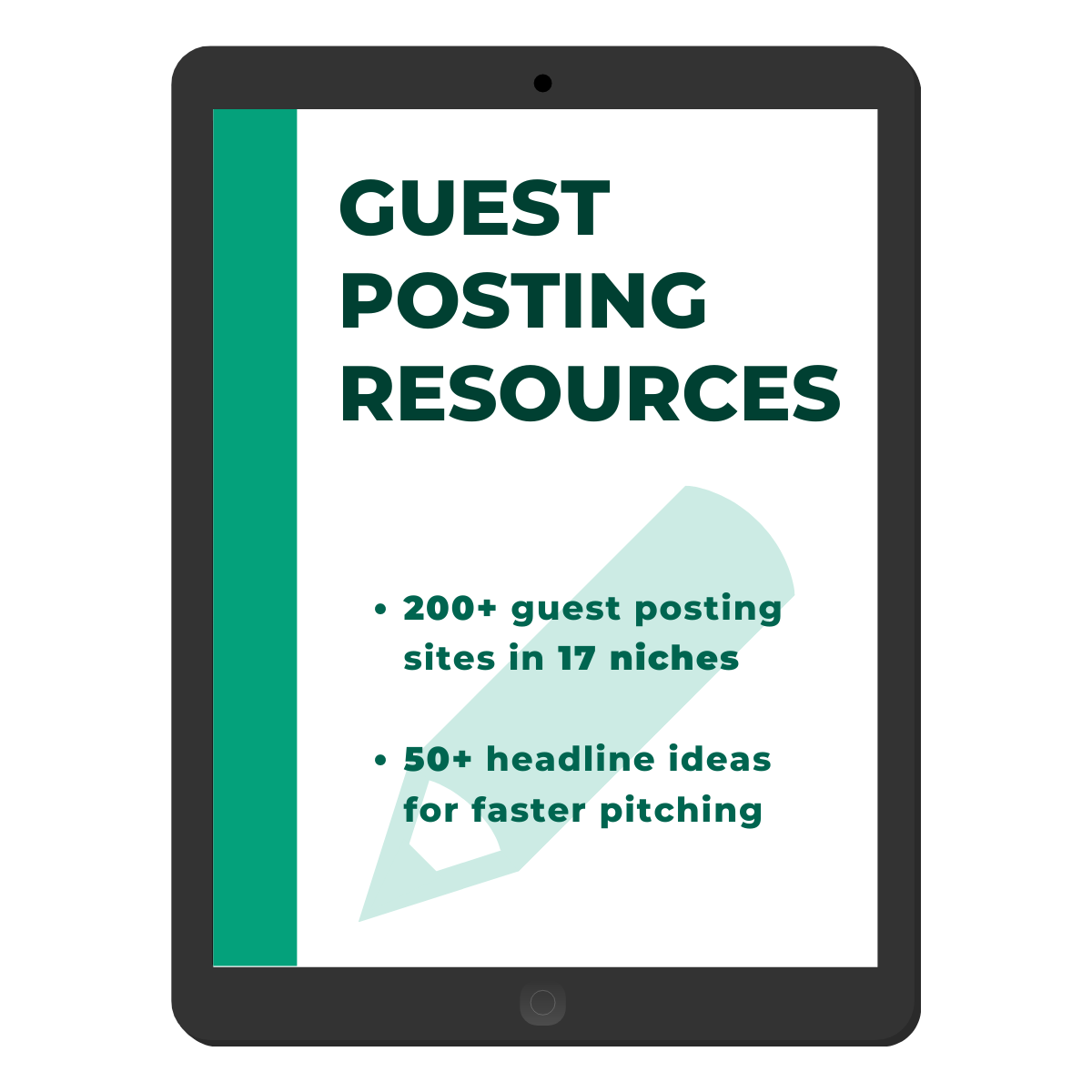 Guest Posting Resources